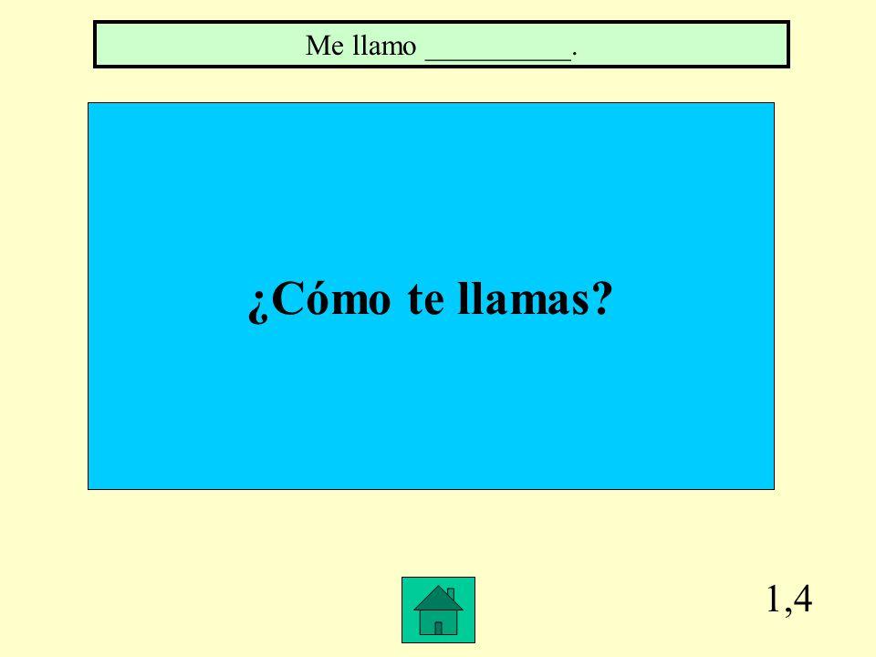 4,2 Name all body parts you have two of. ojos, orejas, manos, brazos, piernas, pies