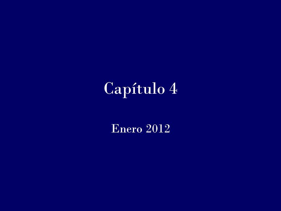 Capítulo 4 Enero 2012