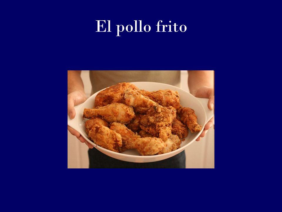 El pollo frito