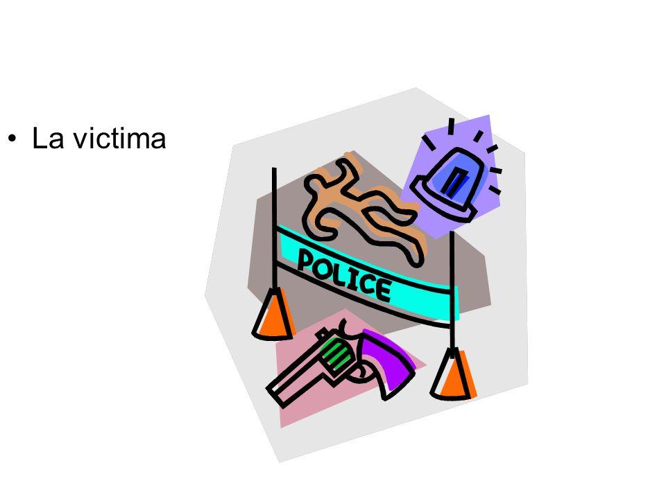 La victima