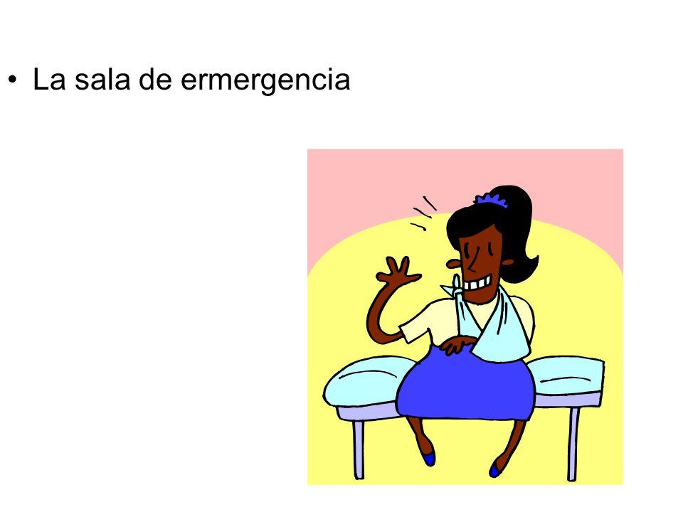 La sala de ermergencia