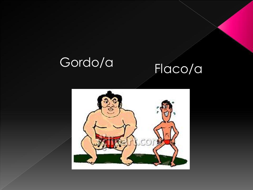 Gordo/a Flaco/a