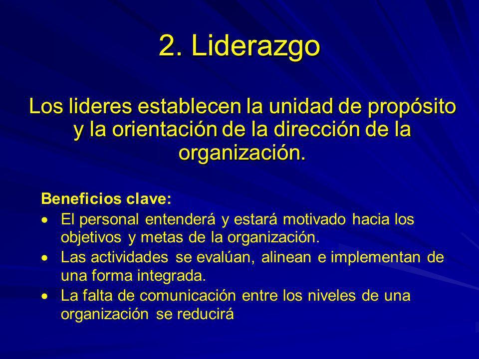 El personal, a todos los niveles, es la esencia de una organización y su total involucramiento posibilitará que sus habilidades sean aplicadas en beneficio de la organización 3.