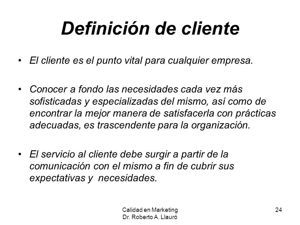 Definición de cliente El cliente es el punto vital para cualquier empresa. Conocer a fondo las necesidades cada vez más sofisticadas y especializadas
