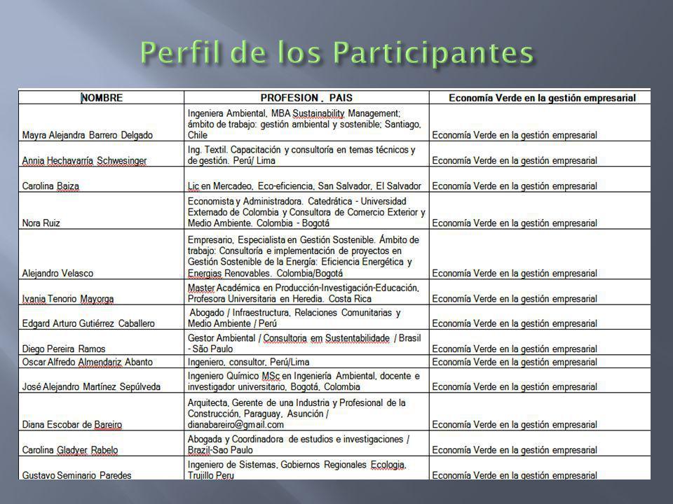 79 PARTICIPANTES Bolivia (4), Brasil (4), Colombia (6), Costa Rica (4), Chile (5), Ecuador (6), El Salvador (4), Guatemala (1), Honduras ( 2), Panamá (2), Paraguay( 2), Perú (19), Uruguay (4), Venezuela (2)