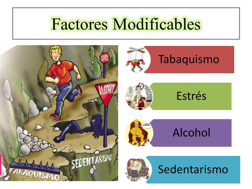 Tabaquismo Estrés Alcohol Sedentarismo