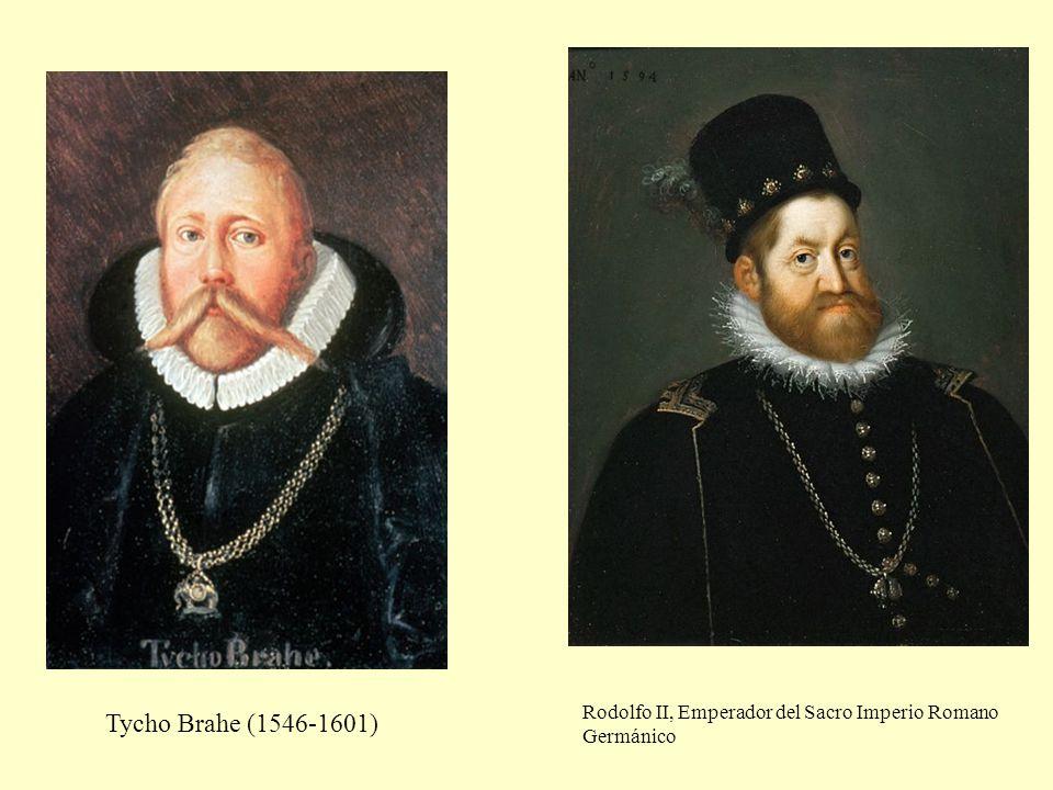 Rodolfo II, Emperador del Sacro Imperio Romano Germánico Tycho Brahe (1546-1601)