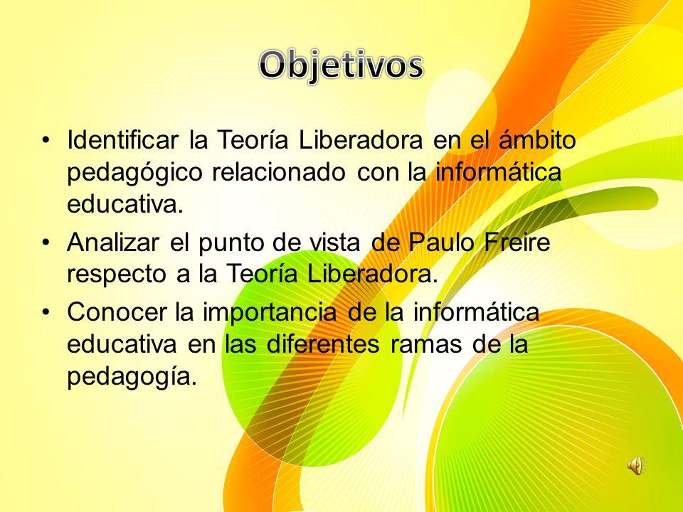 En la presentación conoceremos la manera en que Freire concibe la metodología liberadora, quedan expresadas las principales variables que sirven de coordenadas al proceso educativo como acto político y como acto de conocimiento mediante el uso de la tecnología.
