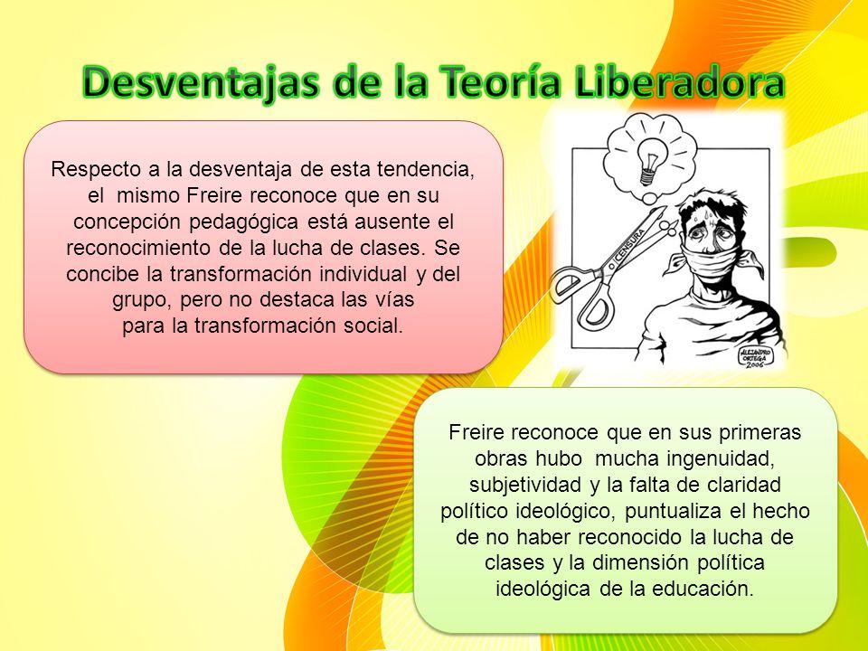La pedagogía liberadora sienta sus bases de una nueva pedagogía en completa oposición a la educación tradicional y bancaria. La enseñanza de la lectur