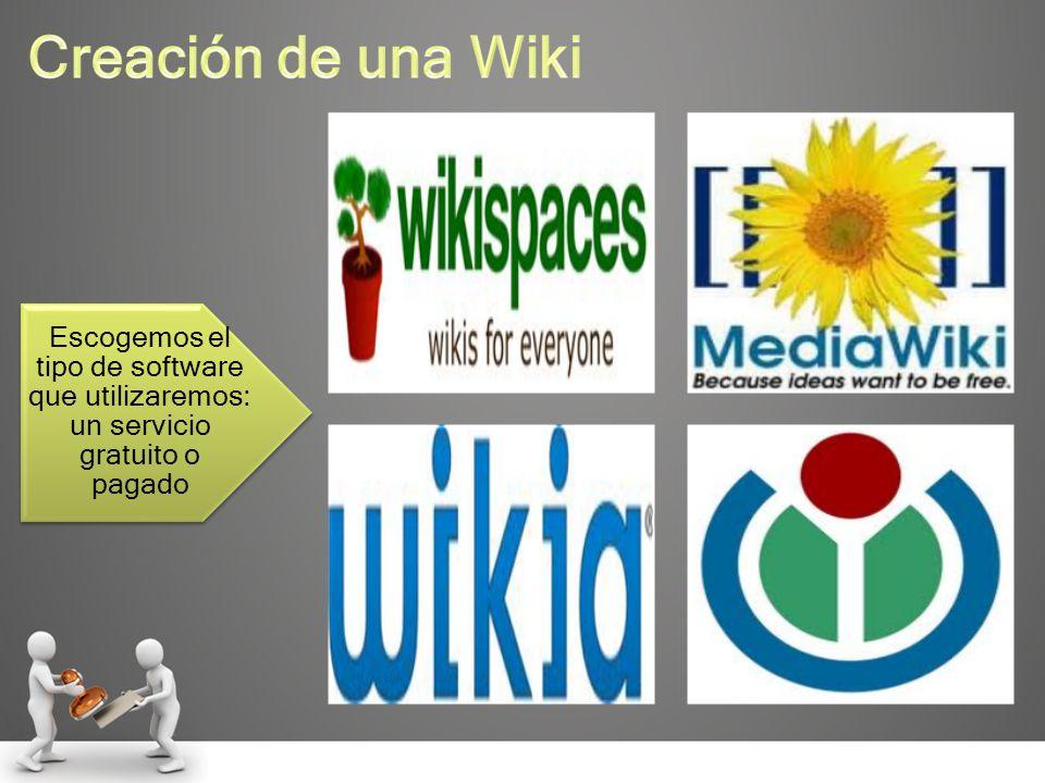 vxx Escogemos el tipo de software que utilizaremos: un servicio gratuito o pagado