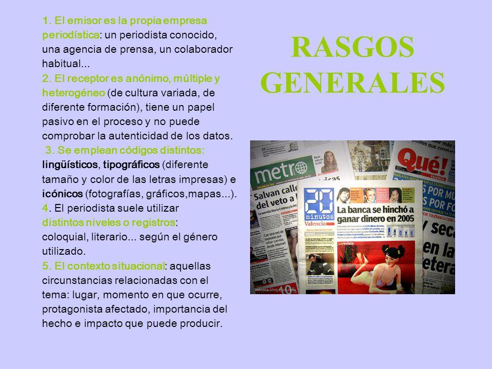 RASGOS GENERALES 1.