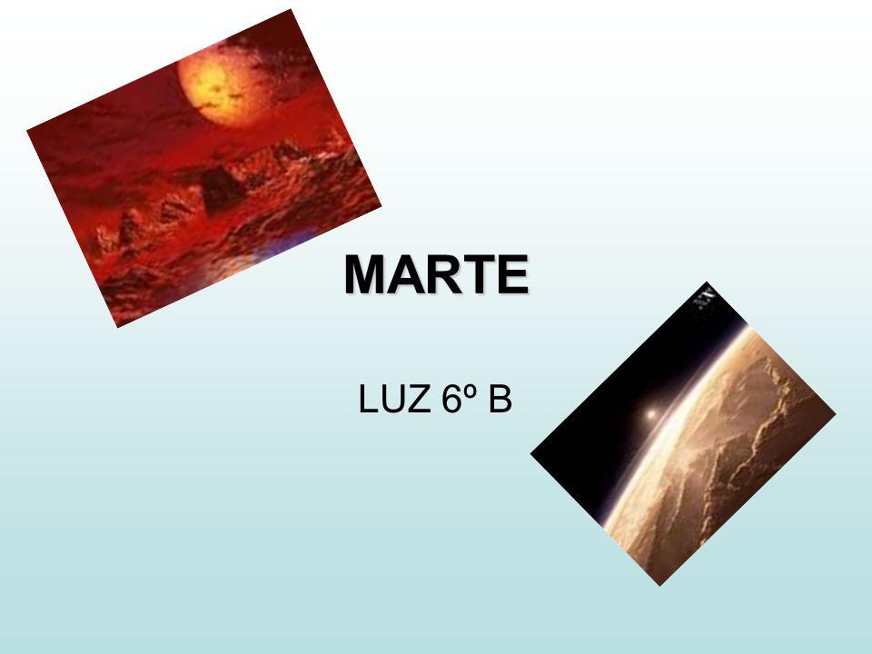 Marte Forma parte de los planetas superiores a la Tierra, que son aquellos que nunca pasan entre el Sol y la Tierra.