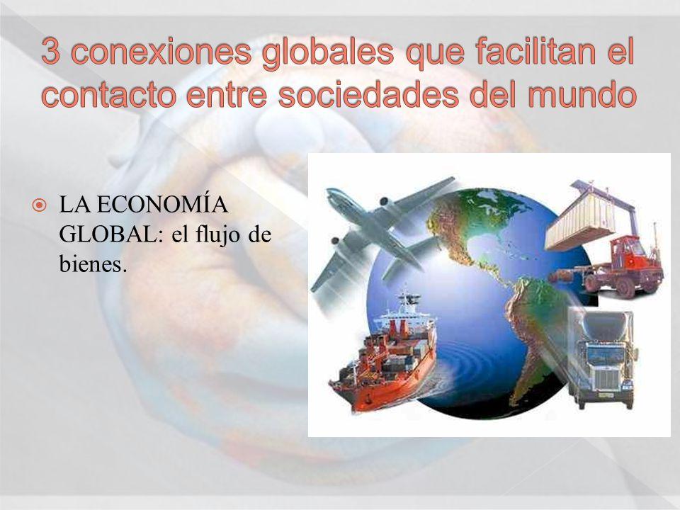 LA ECONOMÍA GLOBAL: el flujo de bienes.