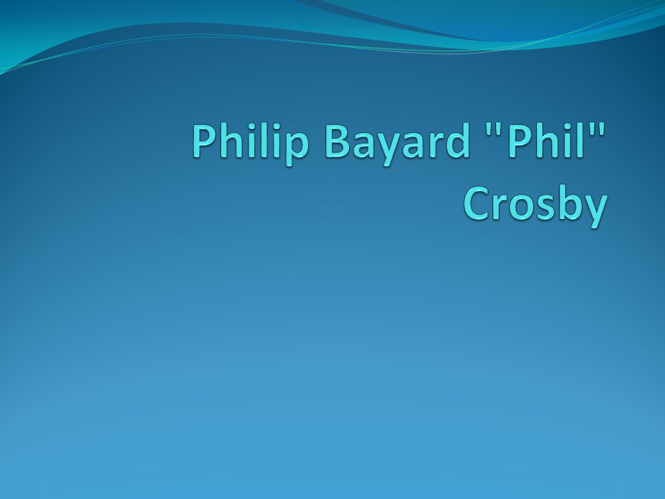 Crosby Associates, Inc.