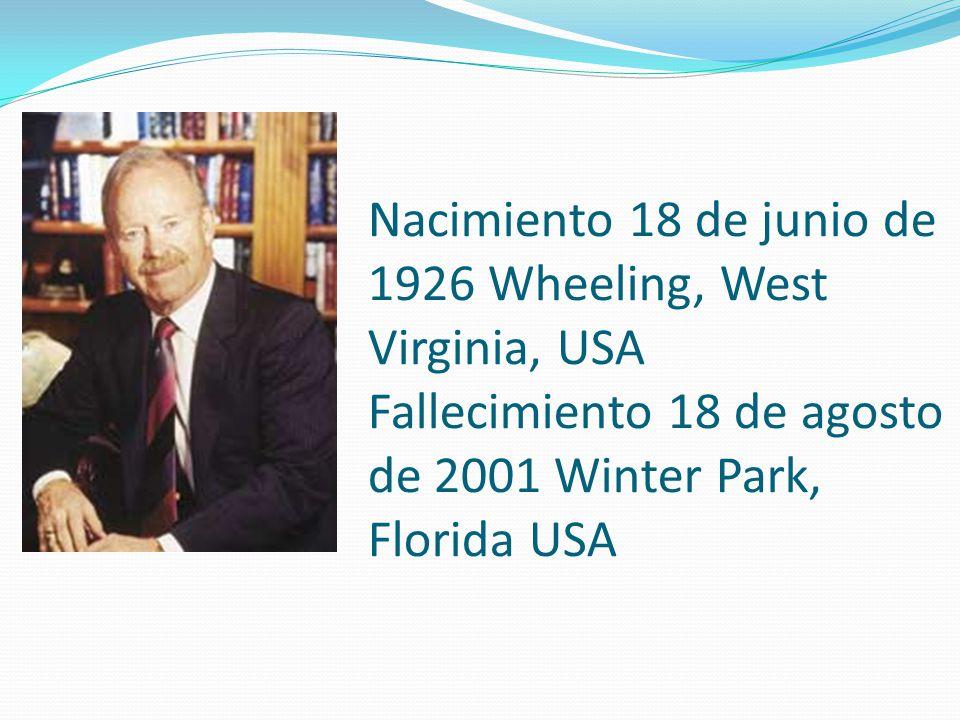 Nacimiento 18 de junio de 1926 Wheeling, West Virginia, USA Fallecimiento 18 de agosto de 2001 Winter Park, Florida USA