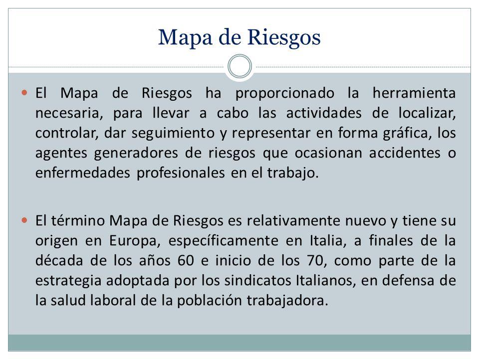 El Mapa de Riesgos ha proporcionado la herramienta necesaria, para llevar a cabo las actividades de localizar, controlar, dar seguimiento y representa