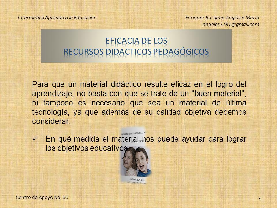 Informática Aplicada a la EducaciónEnríquez Burbano Angélica María angeles2281@gmail.com Centro de Apoyo No. 60 8 Software privativoSoftware libre Ado