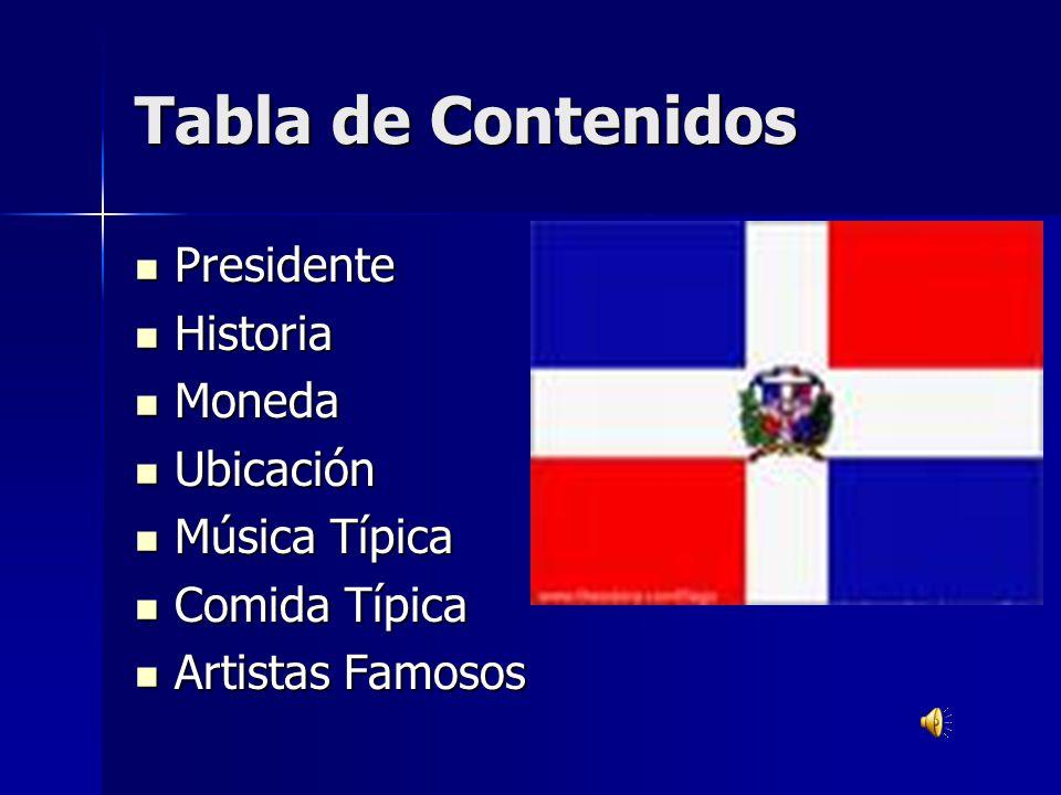 Presidente Presidente El presidente de Republica Dominicana es Nicholas J.