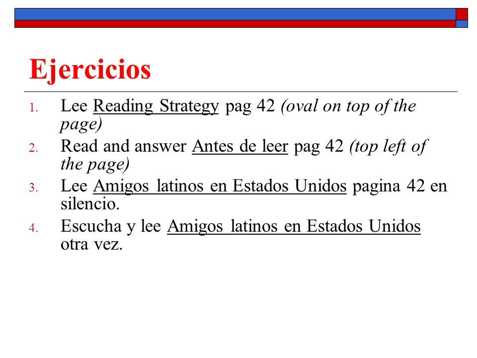 TAREA # 37 1.Copia y responde Ejercicio A pagina 43 (1-5) 2.