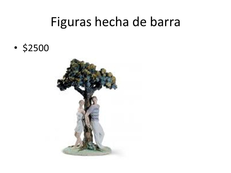 Figuras hecha de barra $2500