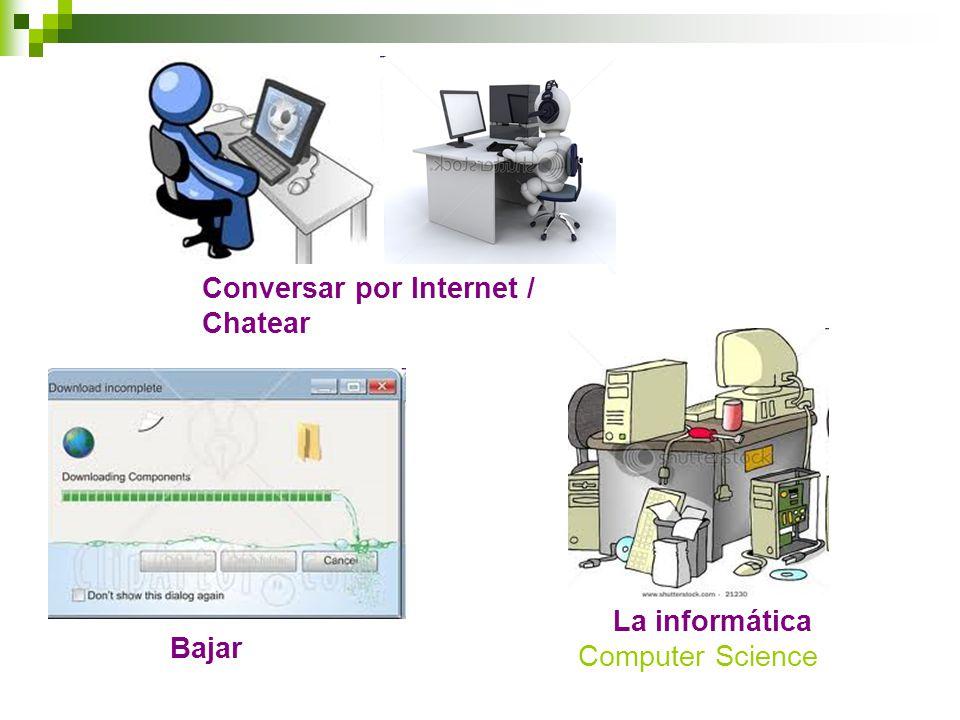 Conversar por Internet / Chatear Bajar La informática Computer Science