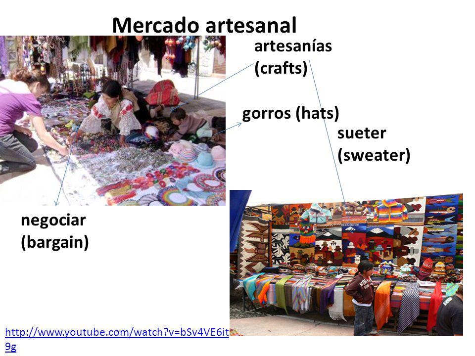 1.¿Qué son los mercados artesanales y qué se puede conseguir en ellos.