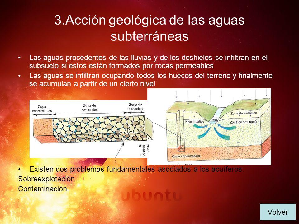2.3.3. Curso bajo Corresponde a la desembocadura de los ríos en los océanos En algunos casos en este tramo se pueden formar terrazas fluviales En las