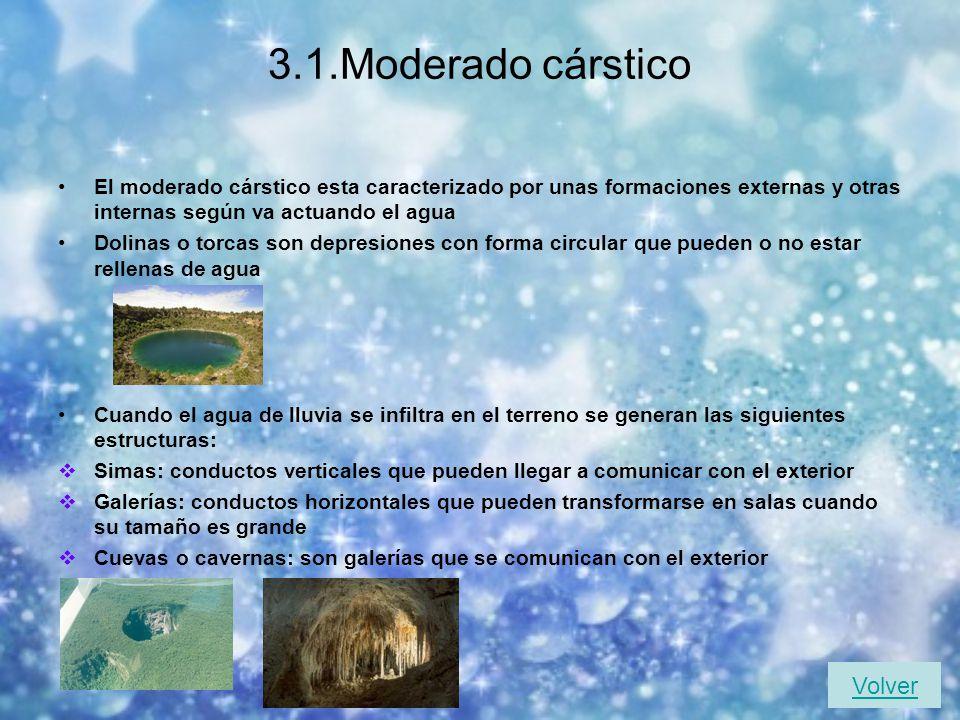 3.Acción geológica de las aguas subterráneas Las aguas procedentes de las lluvias y de los deshielos se infiltran en el subsuelo si estos están formad
