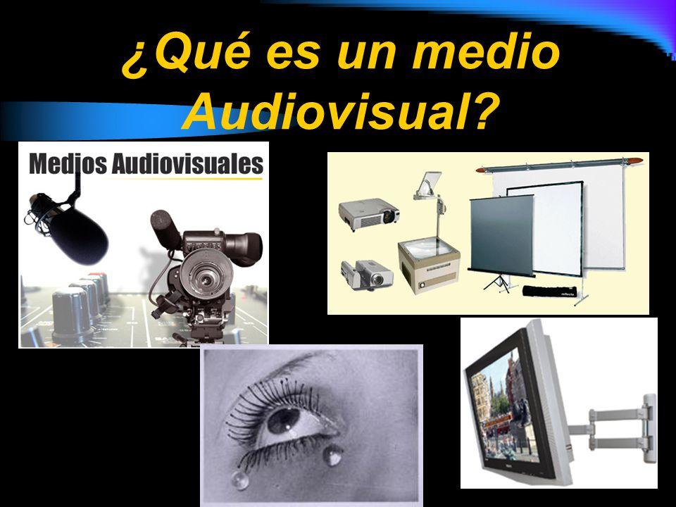 Los medios audiovisuales son recibidos por los seres vivos a través de la percepción y ésta por los sentidos: la vista y el oído La percepción de una imagen depende de nuestro propio modo de verla, ligada a las experiencias y conocimientos de cada persona.