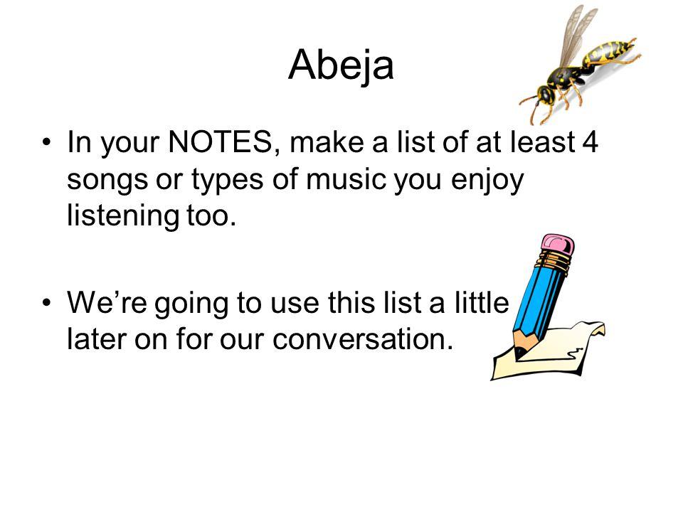 Vocabulario – La Música y Los Conciertos el/la músico(a)El/la cantante