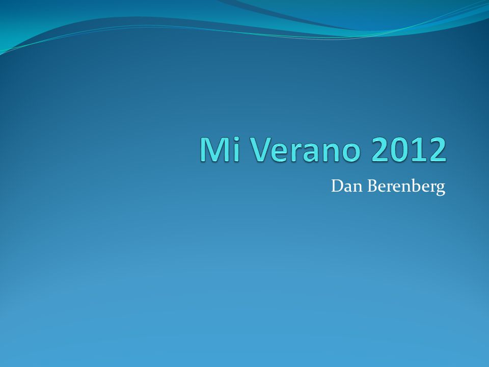 Dan Berenberg