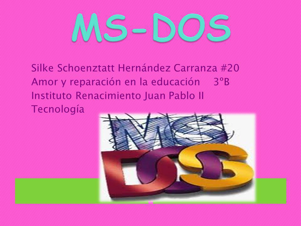 Sus siglas significan: MicroSoft Disk Operating System, Sistema operativo de disco de Microsoft.