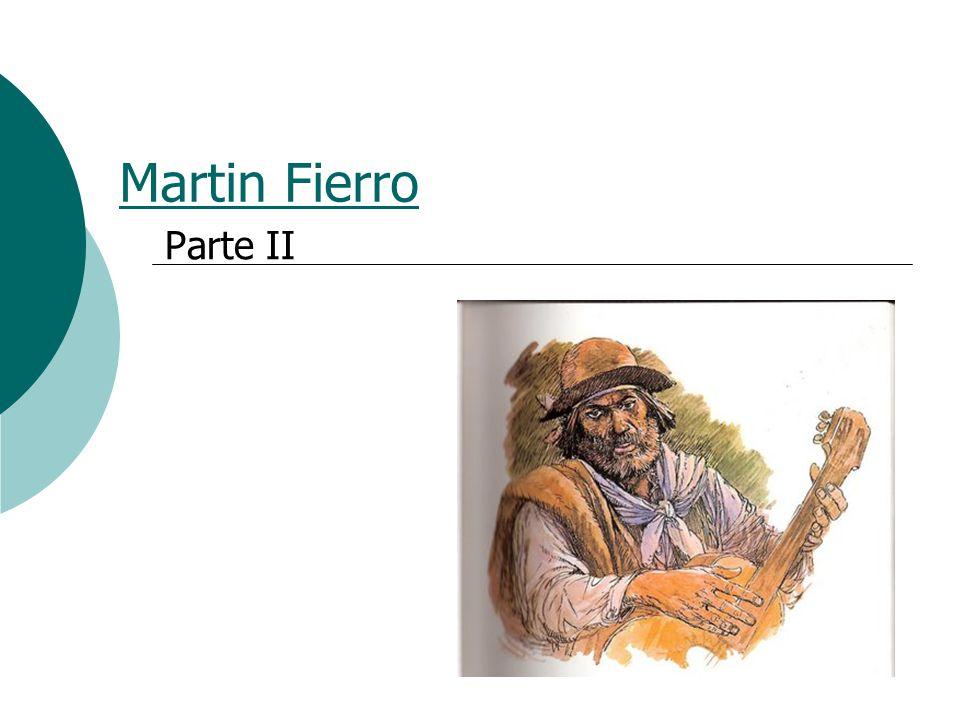 Martin Fierro Parte II