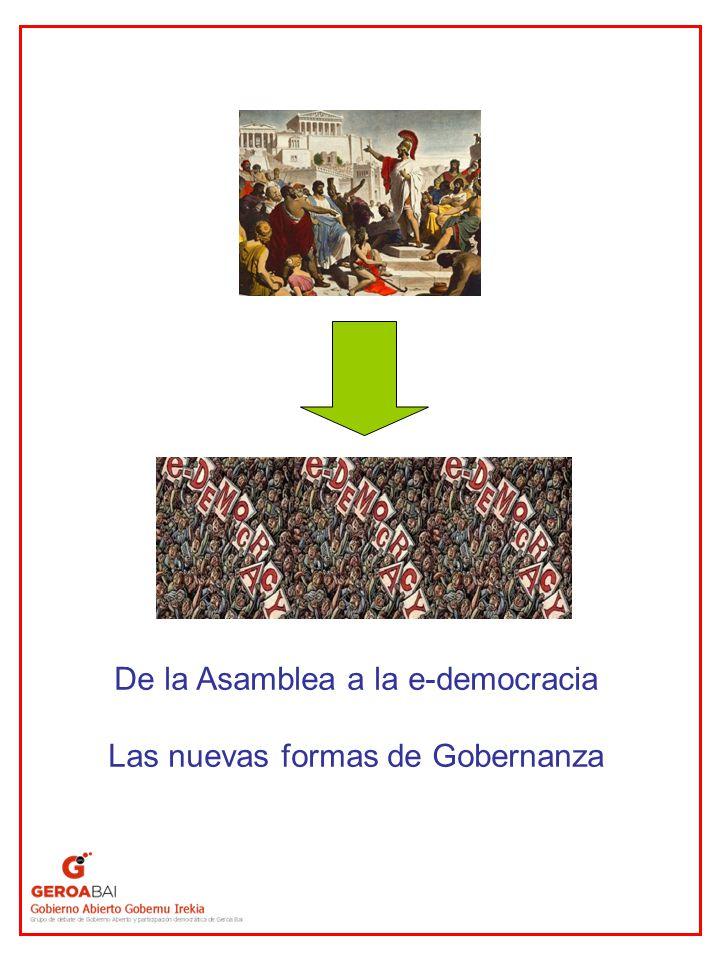 La democracia participativa (I) Por Democracia participativa entendemos aquellas formas de democracia en las que los ciudadanos tienen una mayor participación en la toma de decisiones políticas que la que les otorga tradicionalmente la democracia representativa.