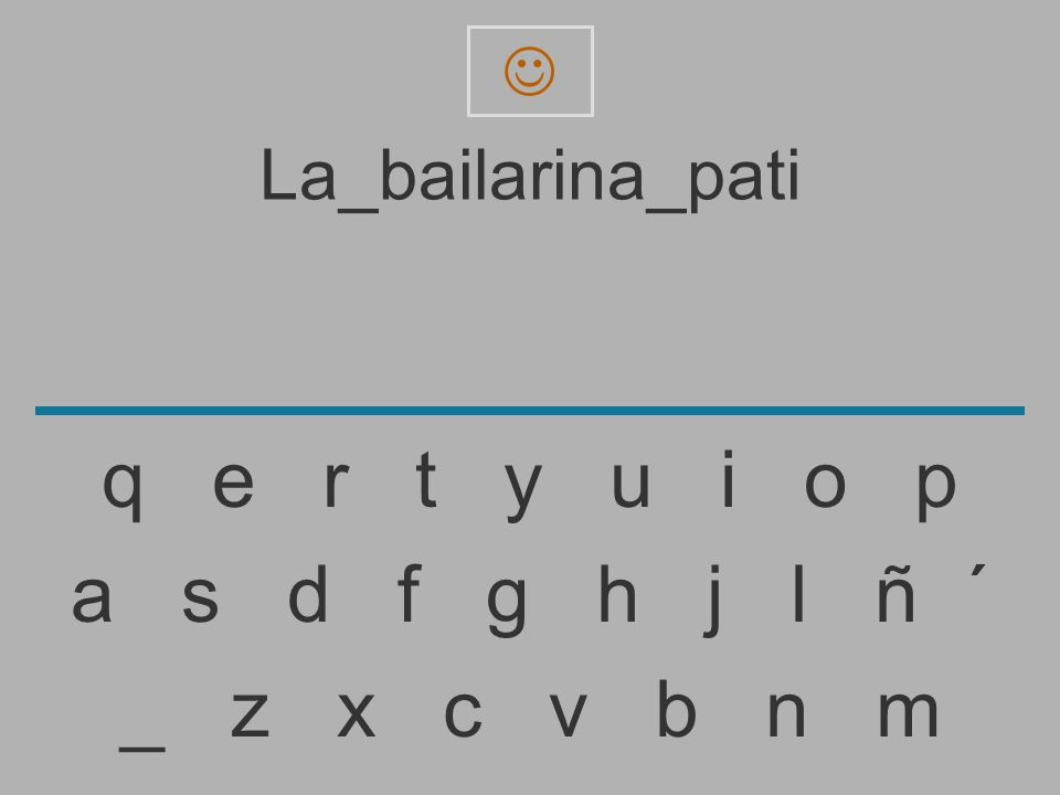 La_bailarina_pat _ z x c v b n m a s d f g h j l ñ ´ q e r t y u i o p