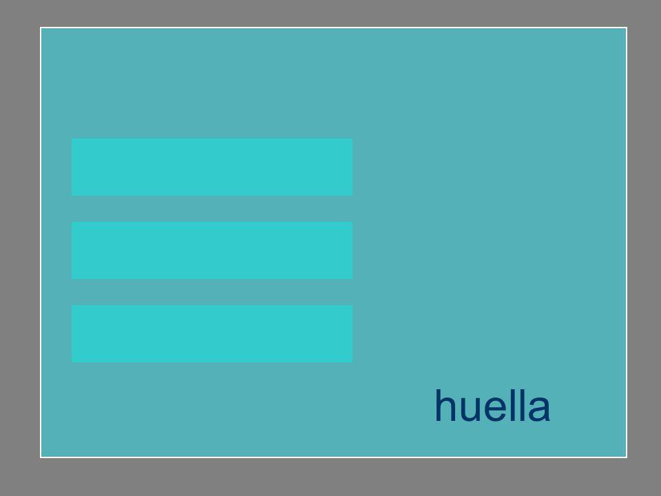 huella buey mayúscula