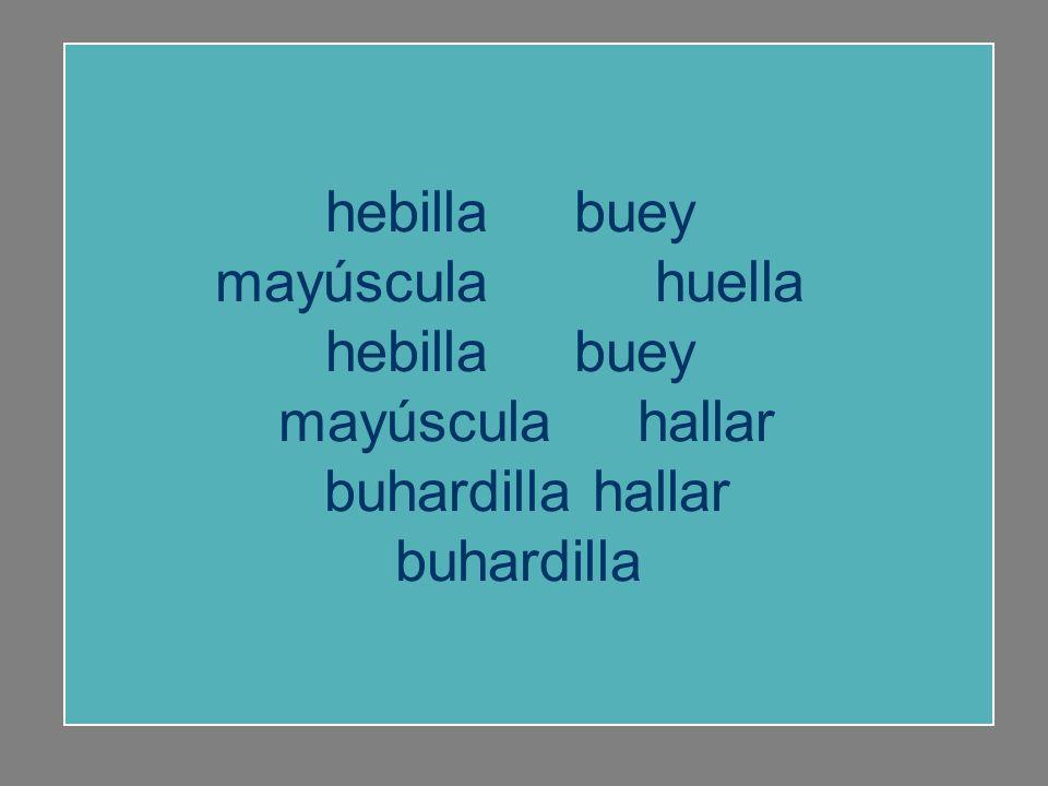 Recuerda las palabras y completa la letra que falta