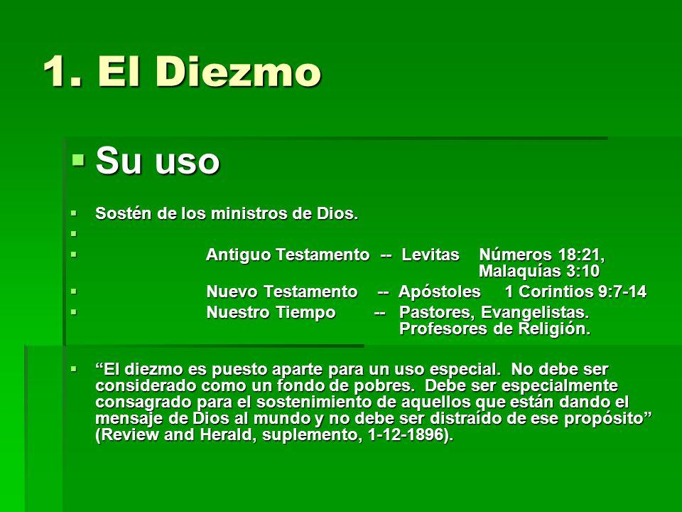 DIEZMOS OFRENDAS DIVISIÓN MUNDIAL A.