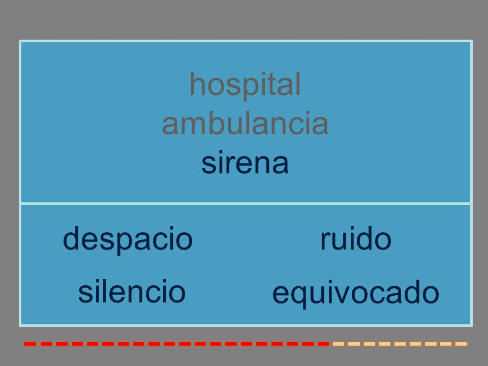 enfermera hospital ambulancia escalera sirenamanguera semáforo
