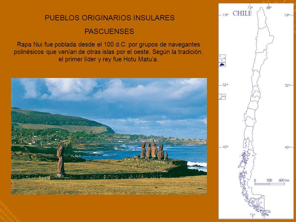 Rapa Nui fue poblada desde el 100 d.C. por grupos de navegantes polinésicos que venían de otras islas por el oeste. Según la tradición, el primer líde