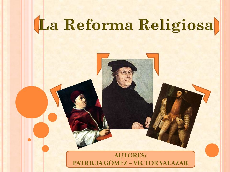 ¿Sabes en qué país se inició la Reforma Protestante.