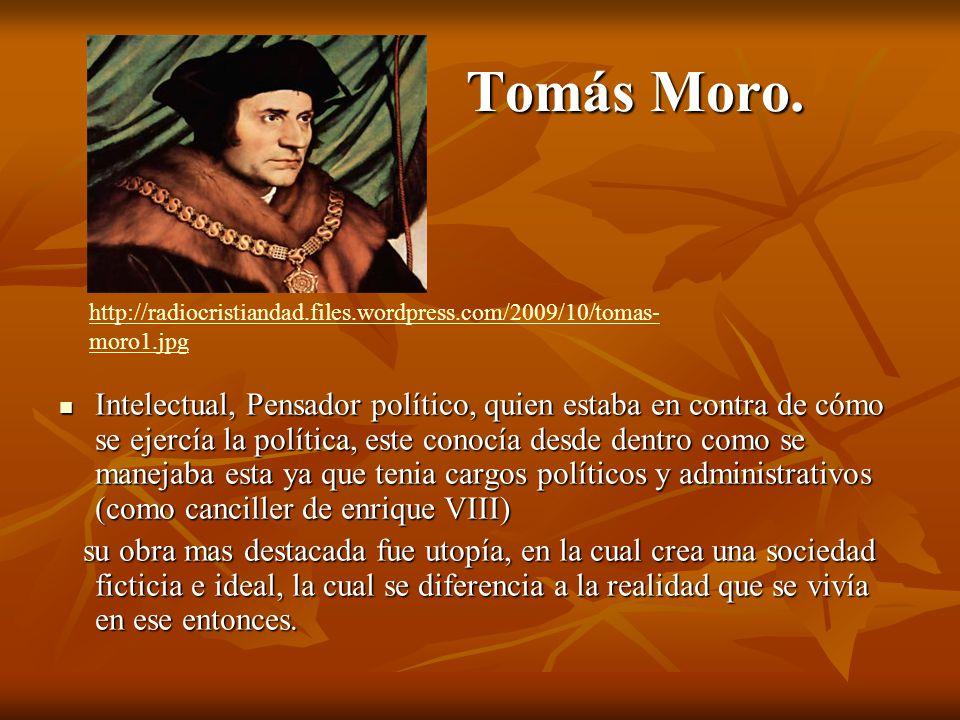 Tomás Moro.