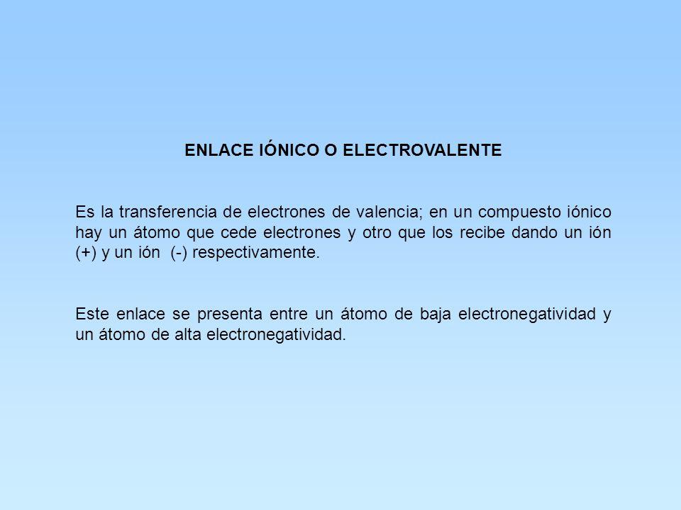 OBJETIVO: EL ALUMNO DETERMINARÁ EL TIPO DE ENLACE DE MOLÉCULAS SENCILLAS POR DIFERENCIA DE ELECTRONEGATIVIDAD Y PREDECIRÁ SUS PROPIEDADES.
