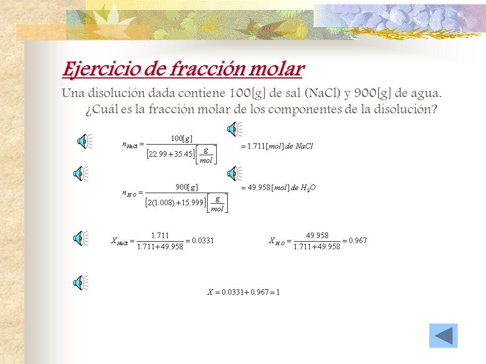 Ejercicio de % m/v Se desea preparar 1 litro de disolución de HCl al 5%m/v. Calcule la masa de soluto necesaria para la preparación de dicha disolució