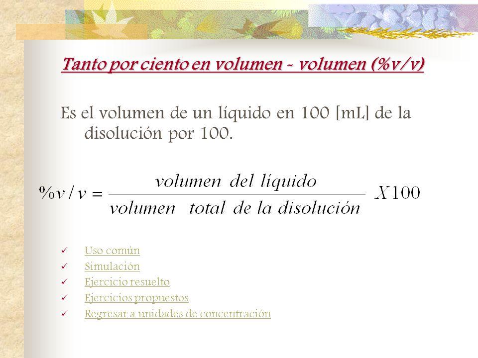 Ejercicios propuestos de ppm 1.-Una disolución tiene una concentración de 1ppm y 1[g] de soluto. ¿Cuál es la masa total de disolución? 1000000[g] 2.-L