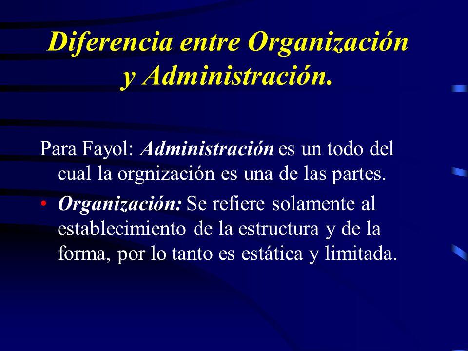 Fayol afirmaba la necesidad, de brindar una enseñanza organizada y metódica de la administración, para formar mejores administradores a partir de sus