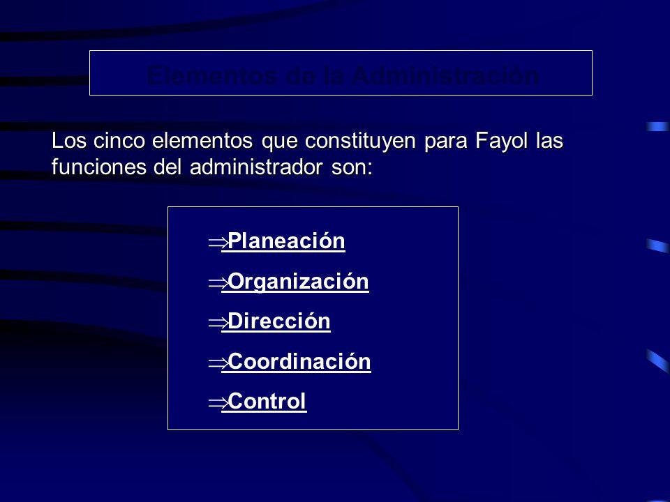 Concepto de línea y de Staff Fayol se interesó por la organización lineal basada en estos principios: 1.