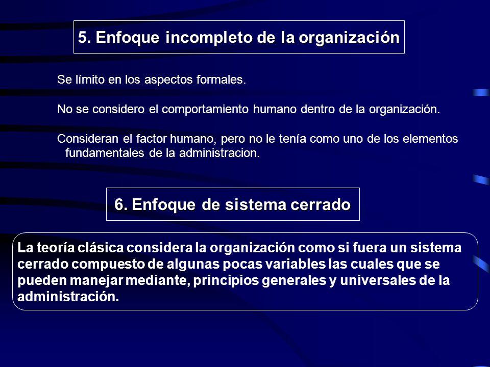 . Ultrarracionalismo en la concepción de la administración 3. Ultrarracionalismo en la concepción de la administración Falta de realismo en el análisi