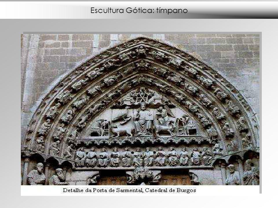 Escultura Gótica: tímpano