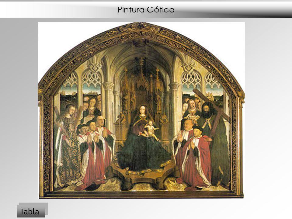 Pintura Gótica Tabla